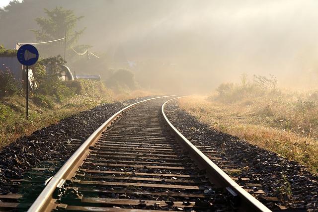 Railway, Train, Transport, Travel, Light