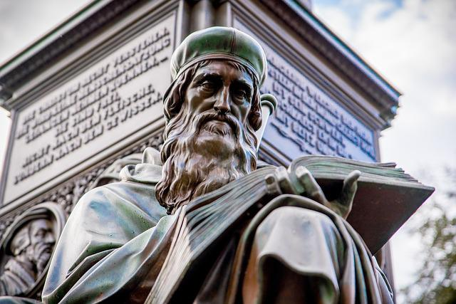 Travel, Sculpture, Statue, Reformation, Luther