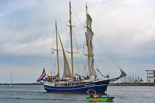 Rostock, Hanse Sail, Maritime, Water, Sea, Travel