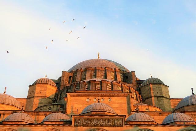Cami, Religion, Islam, Dome, Istanbul, Minaret, Travel