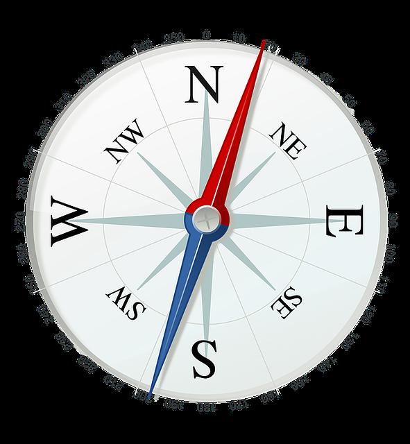 Compass, Direction, Navigation, Travel, North