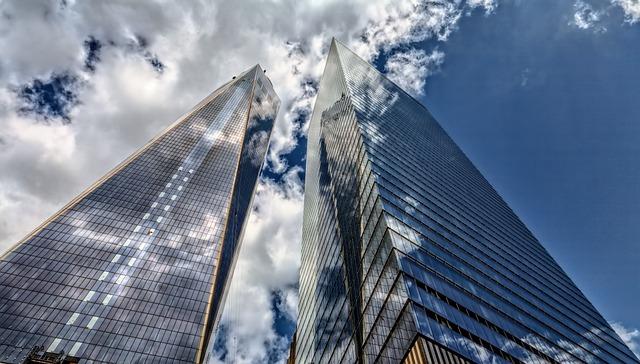 Panorama, Sky, City, Architecture, Travel, New York