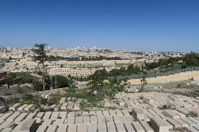 Jerusalem, On, Architecture, Travel, Panoramic, City