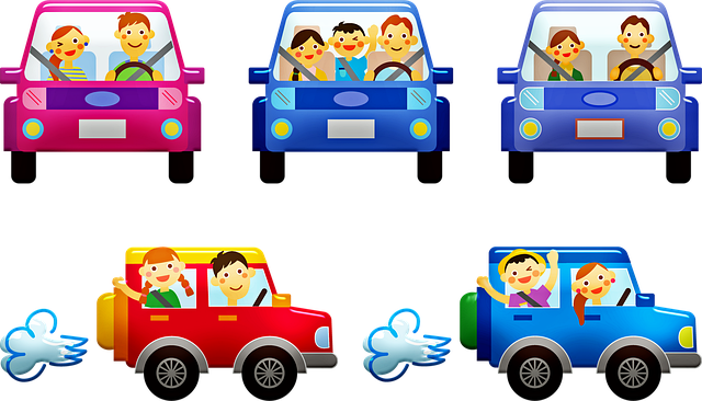People In Cars, Family, Car, Automobile, Travel, Share