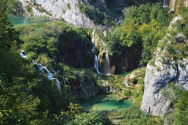 Plitvice, Lake, National Park, Croatia, Travel, People