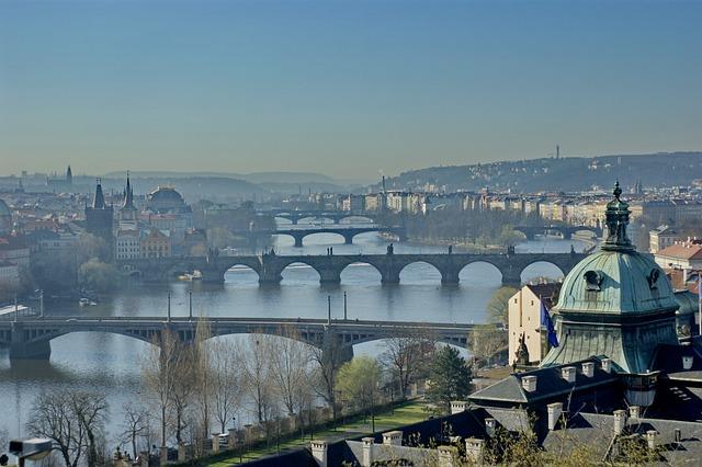 Prague, Praha, Bridge, Czech, Europe, Travel, City