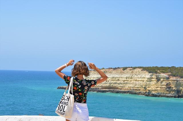 Portugal, Algarve, Travel, Sea, Ocean, Beach, Summer