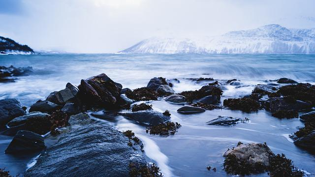 Water, Norway, Landscape, Nature, Travel, Sea, Dramatic