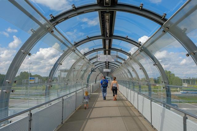 Sky, Travel, Bridge, Architecture, Urban, Airport