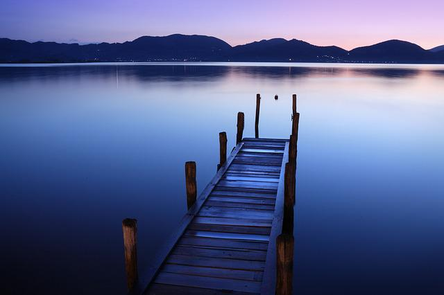 Waters, Lake, Sunset, Sky, Outdoors, Travel, Serenity