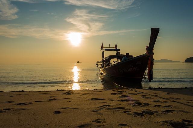 Waters, Sea, Travel, Nature, Coast, Kho Lipe, Tour