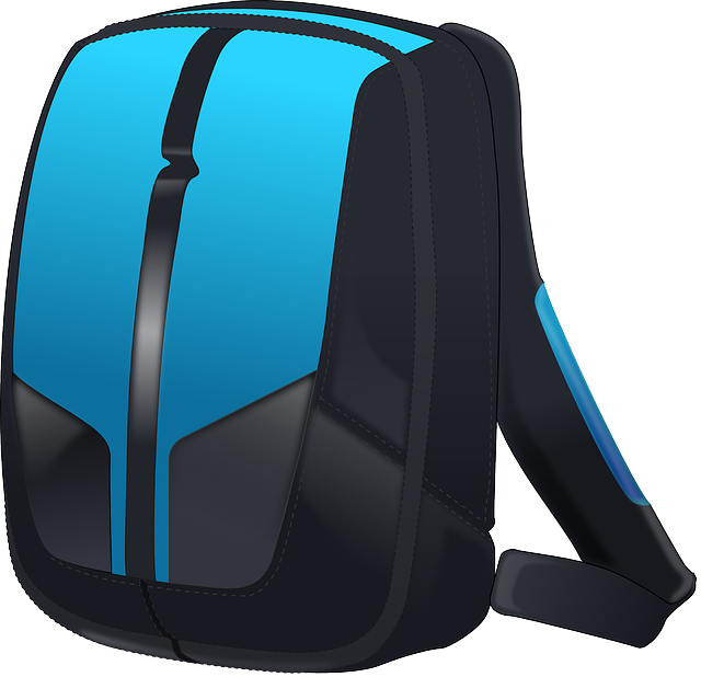 Backpack, Bag, Travel, Vacations, Blue Travel