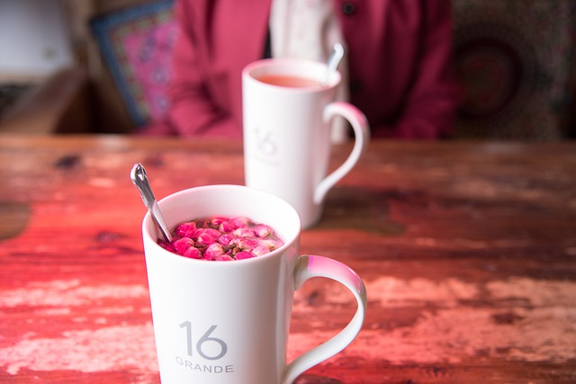 Cup, Flower, Tea, Background, Wallpaper, Traveling