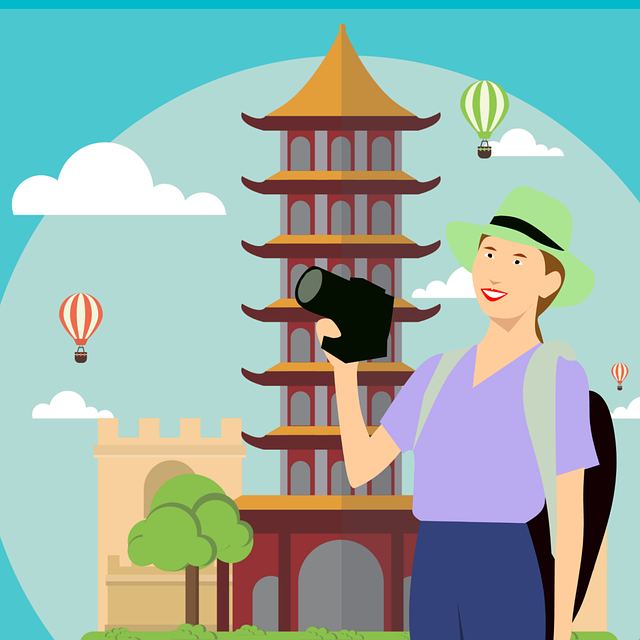 Tourist, Traveling, Cartoon Character, Idea, Bag