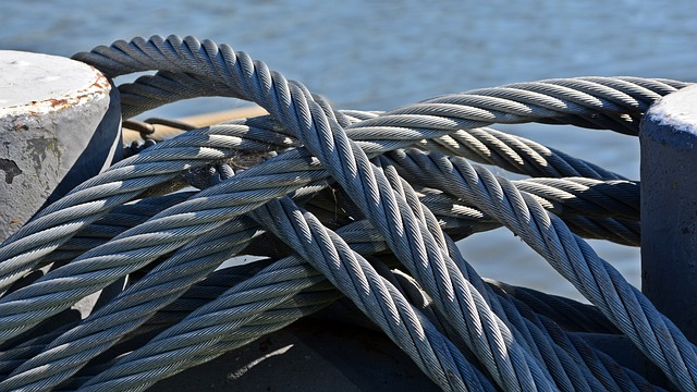 Rope, Knot, Steel Cable, Secure, Traverse