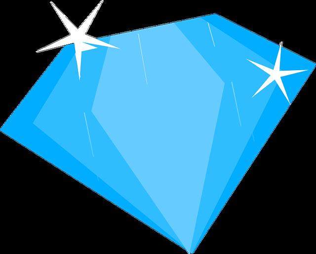 Blue, Diamond, Sapphire, Treasure