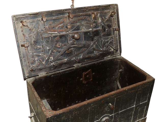 Chest, Treasure Chest, Middle Ages, Historically