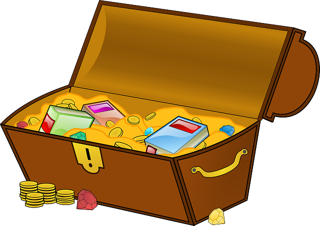 Treasure, Treasure Chest, Geocaching, Find