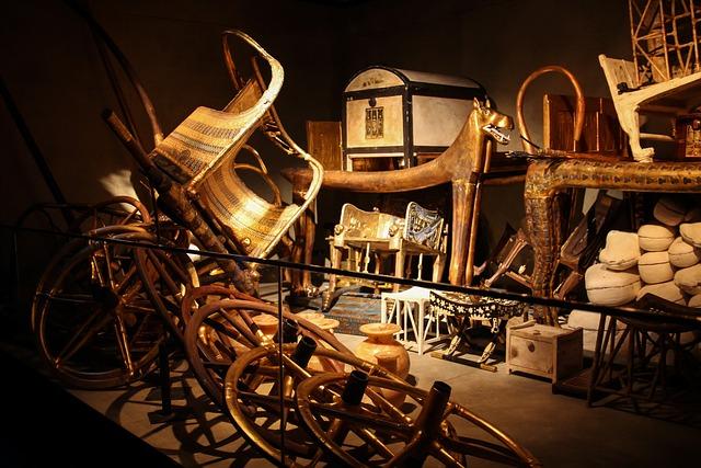 Burial Chamber, Egypt, Pharaonic, Treasure, Tutankhamun