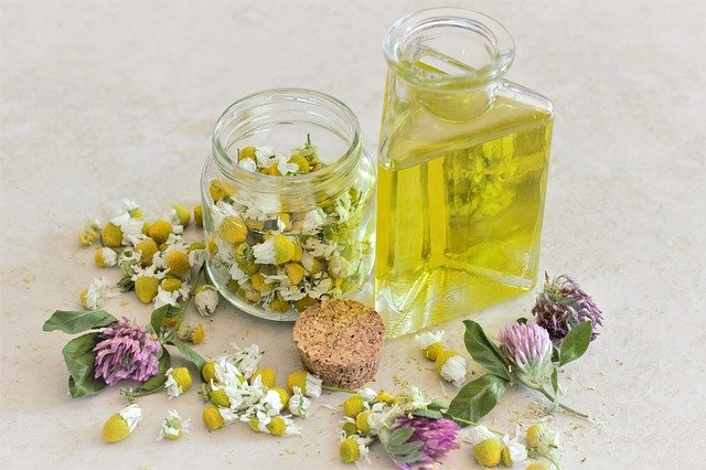 Chamomile, Oil, Aromatherapy, Herbal, Treatment