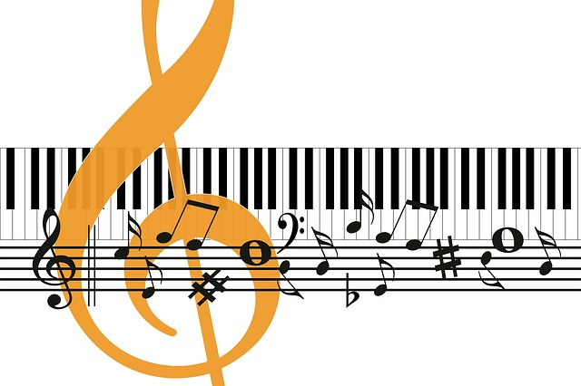 Music, Piano, Treble Clef, Clef, Tonkunst, Keys