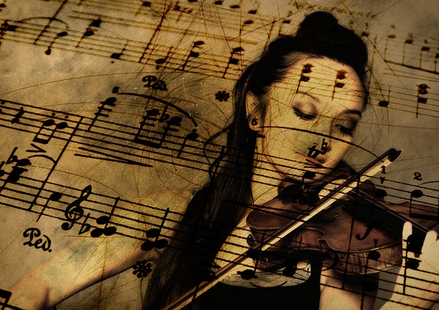 Music, Guitar, Violin, Treble Clef, Sound, Concert