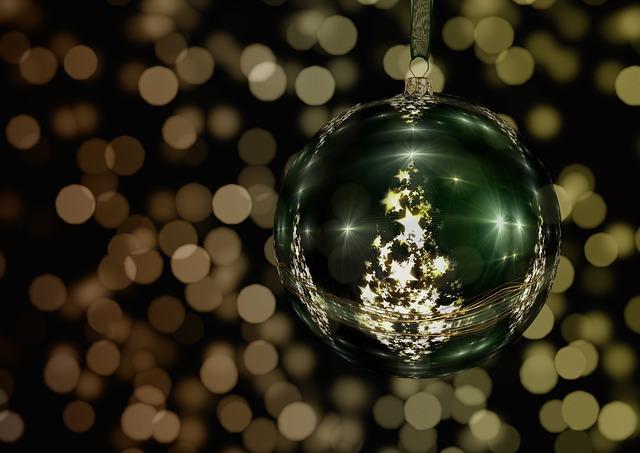 Tree Decorations, Christmas, Atmosphere, Advent