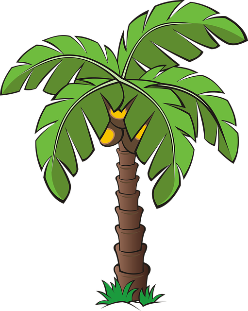 Tree, Trees, Palm, Dates, Date Palm, Forest, Vegetation