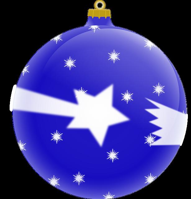 Ball, Tree, Christmas, Star, Comet