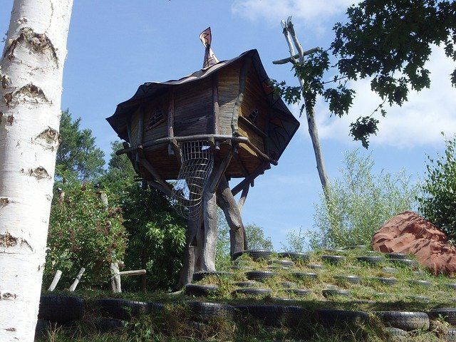 Treehouse, Theme Park, Observation Tower