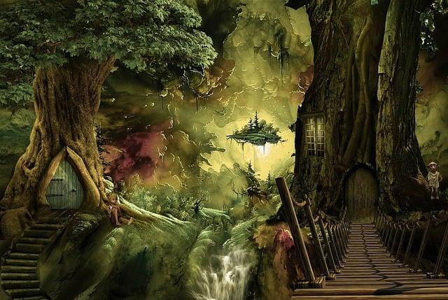 Fantasy, Fantasy World, Trees, Amazone, Dream, Child