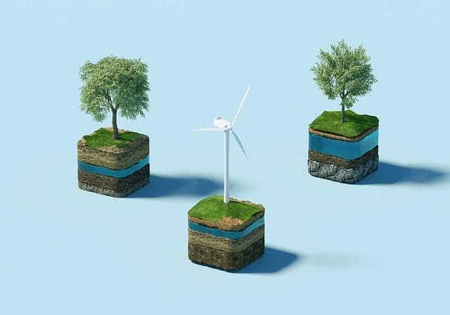 Windmill, Trees, Sustainability, Wind Turbine, Nature