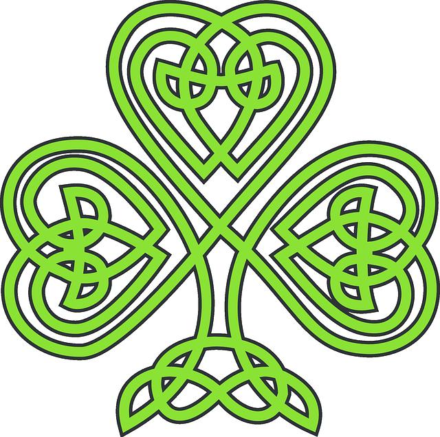 Shamrock, Celtic, Plant, Clover, Trefoil