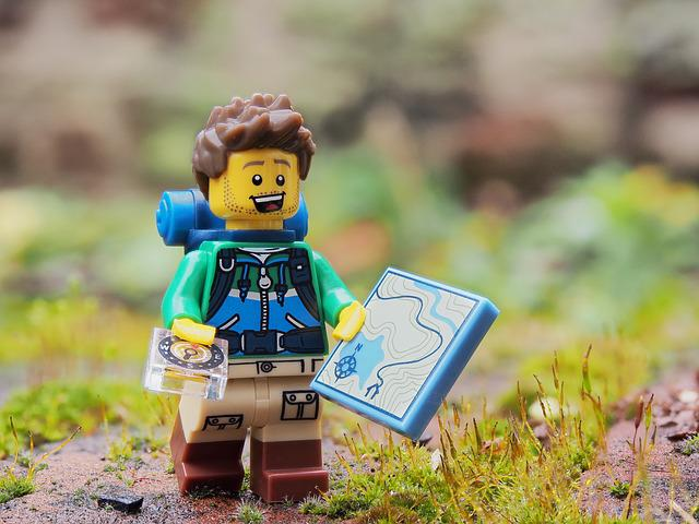 Hiker, Walker, Rambler, Lego, Walk, Explore, Trek