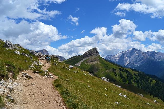 Val Gardena, Sassolungo, Mountain, Trekking