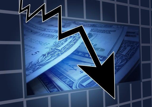 Financial Crisis, Stock Exchange, Trend, Symbol, Arrow