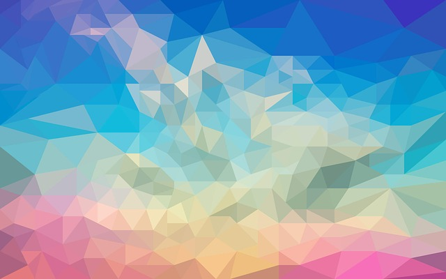 Design, Abstract, Polygon, Triangle, Sky, Landscape