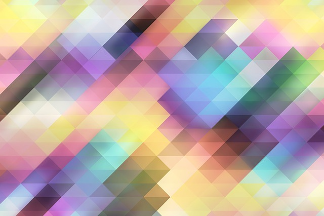 Abstract, Background, Triangle, Geometric, Blurs, Soft