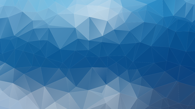 Mesh, Background, Triangles, Polygon, Color, Blue