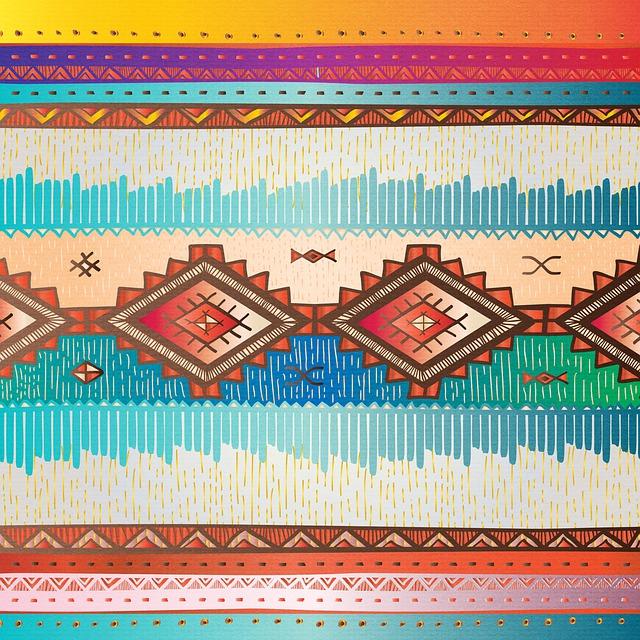 Digital Paper, African, Tribal, Scrapbooking, Texture