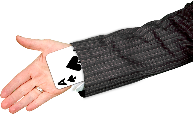 Hand, Playing Card, Ace, Pik, Magic, Trick, Surprise