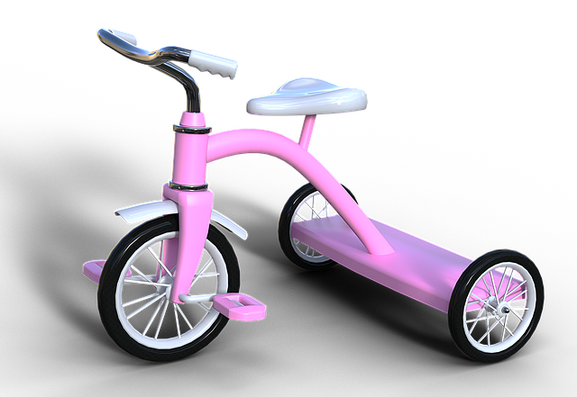 Tricycle, Child's Bike, Drive, Locomotion, Classic
