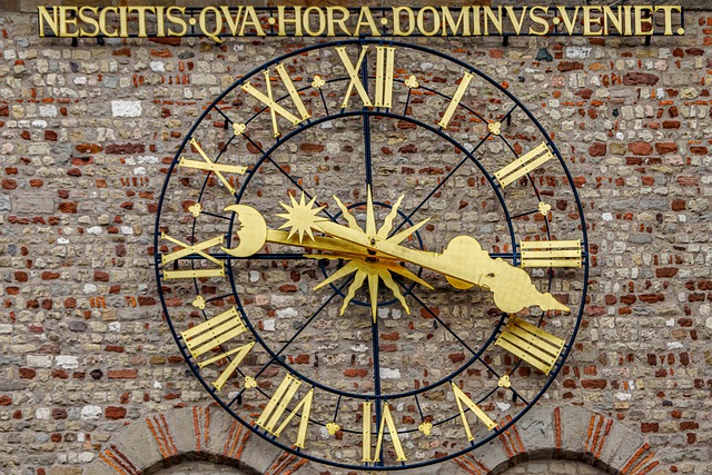 Clock, Clock Tower, Trier, Dom, Historically, Metal