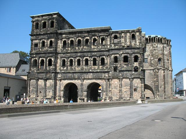 Trier, Porta Nigra, Mosel