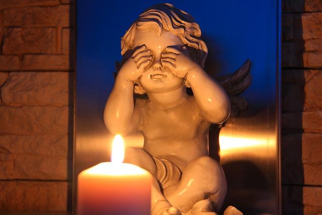 I See No Evil, Angel, Candle, Trilogy, Symbolism