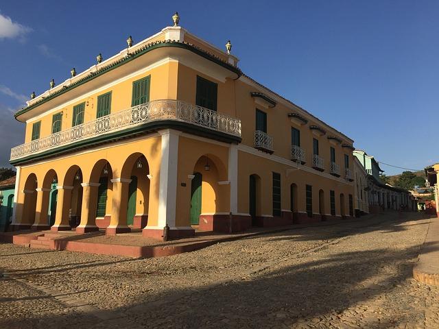 Old Colonial House, Cuba, Trinidad Cuba Old House