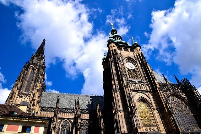 St Vitus Cathedral, Prague, Trip, Dom, Church