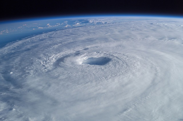 Tropical Cyclone, Hurricane, Isabel, Aerial View, Storm