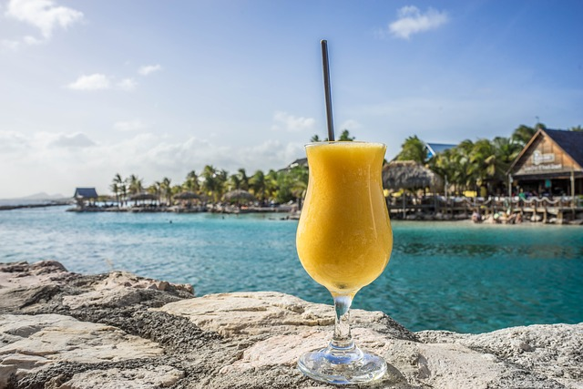 Passion Fruit Daiquiri, Tropical, Drink, Island