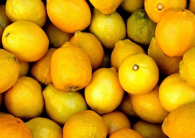 Tropical Fruit, Lemon, Healthy, Sour, Bio, Fruit